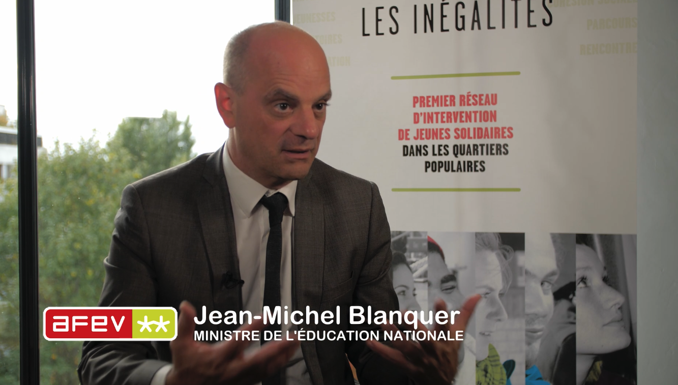 Interview : Jean-Michel Blanquer, Ministre de l'Education nationale et de la jeunesse